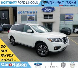 Used 2017 Nissan Pathfinder SL | AWD | HTD LEATHER | 3 ROW | PWR LIFTGATE | for sale in Brantford, ON