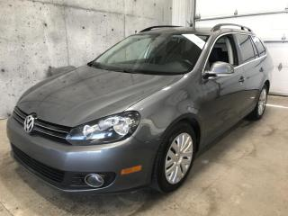 Used 2013 Volkswagen Golf Wagon TDI Diesel for sale in Lévis, QC