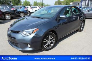Used 2016 Toyota Corolla LE **SUNROOF** FINANCEMENT FACILE !! for sale in Laval, QC