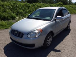Used 2009 Hyundai Accent Berline 4 portes, boîte manuelle, L for sale in Quebec, QC