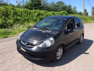 Used 2007 Honda Fit Hayon 5 portes, boîte automatique LX *Di for sale in Quebec, QC