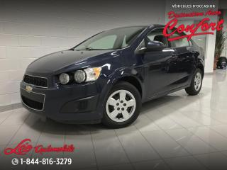Used 2015 Chevrolet Sonic for sale in Chicoutimi, QC