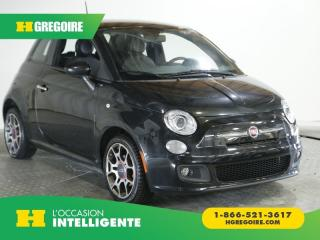 Used 2012 Fiat 500 SPORT AC GR ELEC for sale in St-Léonard, QC