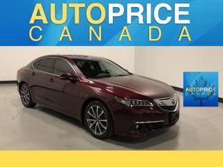 Used 2015 Acura TLX V6 Elite ELITEPKG NAVIGATION REAR CAM LEATHER for sale in Mississauga, ON