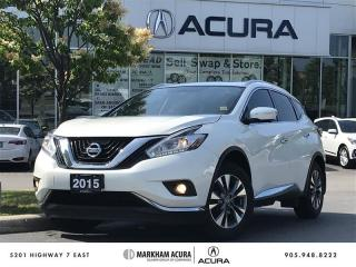 Used 2015 Nissan Murano SL AWD CVT Pano Roof, Navi, 360 Cam, Bose Audio for sale in Markham, ON
