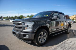 Used 2017 Ford F-150 Lariat 4x4, sport package, max trailer tow package, FX4 off road package, 3.5l v6 Ecoboost for sale in Okotoks, AB