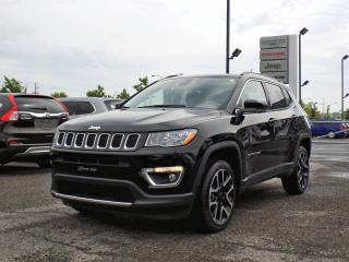 Used 2018 Jeep Compass LIMITED 4X4 *CUIR*TOIT PANO*GPS* for sale in Brossard, QC