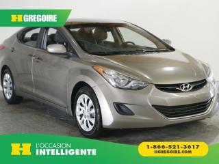 Used 2012 Hyundai Elantra GL A/C GR ELECT for sale in St-Léonard, QC