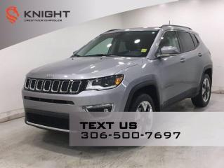 New 2019 Jeep Compass Limited 4x4 | Leather | Sunroof | Navigation | for sale in Regina, SK