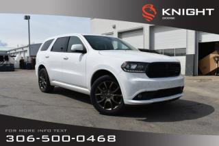 Used 2017 Dodge Durango GT | Leather | Low KMs | Heated Seats & Steering Wheel | for sale in Swift Current, SK