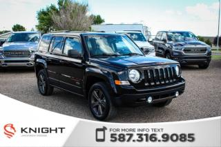 Used 2016 Jeep Patriot 75th Anniversary - Heated Front Seats, Sunroof, Remote Start for sale in Medicine Hat, AB