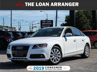 Used 2012 Audi A4 for sale in Barrie, ON