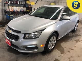 Used 2015 Chevrolet Cruze LT * Chevy mylink touch screen * Remote start * Phone connect * Voice recognition * Reverse camera * On star * Hands free steering wheel controls * Ke for sale in Cambridge, ON