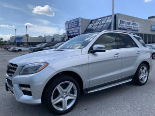 Used 2014 Mercedes-Benz ML-Class DVD|LANE ASSISST|BLIND SPOT|MASSAGE SEATS for sale in Concord, ON