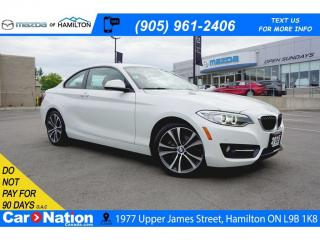 Used 2015 BMW 2-Series 228 i xDrive xDrive | NAV | LEATHER | SUNROOF | REAR CAM for sale in Hamilton, ON