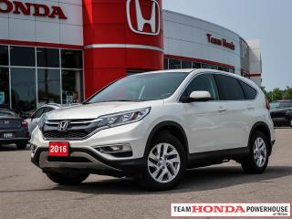 Used 2016 Honda CR-V EX-L for sale in Milton, ON