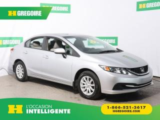 Used 2014 Honda Civic LX A/C for sale in St-Léonard, QC