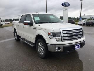 Used 2013 Ford F-150 Lariat | 4X4 | One Owner | Bluetooth for sale in Harriston, ON