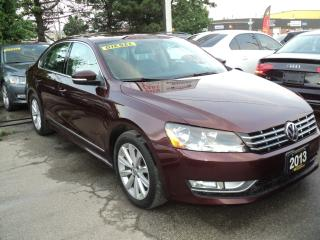 Used 2013 Volkswagen Passat Highline NAVIGATION,CAMERA,SUN ROOF, TDI for sale in Oakville, ON