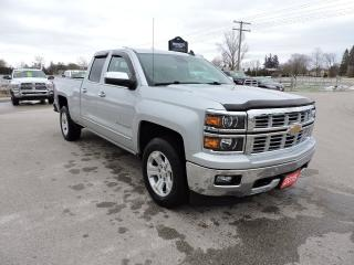 Used 2015 Chevrolet Silverado 1500 LTZ. Leather. 4X4. Only 61000 km's for sale in Gorrie, ON