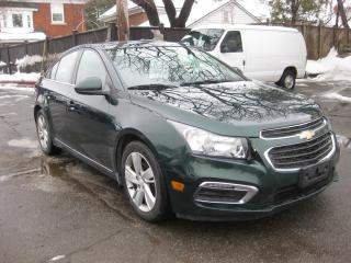 Used 2015 Chevrolet Cruze Diesel Sunroof Nav AC Cruise Htd Lther Reverse Cam for sale in Ottawa, ON