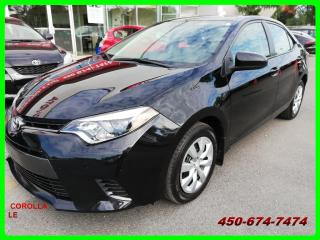 Used 2016 Toyota Corolla ***BAS KILOMÉTRAGE, AUTOMATIQUE** for sale in Longueuil, QC