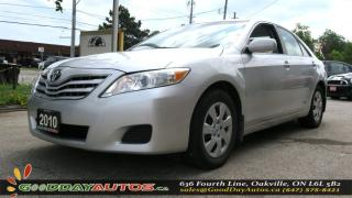 Used 2010 Toyota Camry LE|NO ACCIDENT|SINGLE OWNER|KEYLESS|AC for sale in Oakville, ON