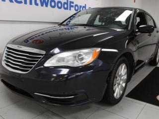 Used 2012 Chrysler 200 LX FWD black on black picking up the slack for sale in Edmonton, AB