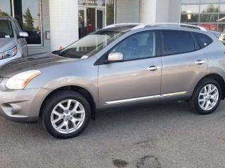 Used 2011 Nissan Rogue SL AWD; LOADED, LEATHER, NAV, BACKUP CAM, HEATED SEATS AND MORE for sale in Edmonton, AB