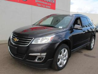 Used 2016 Chevrolet Traverse LT/AWD/7 PASSENGER/HEATED SEATS/BACKUP CAM for sale in Edmonton, AB