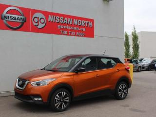 Used 2019 Nissan Kicks SV/BACK UP CAM/HEATED SEATS/PUSH START for sale in Edmonton, AB