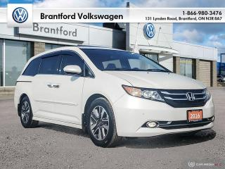 Used 2016 Honda Odyssey Touring for sale in Brantford, ON