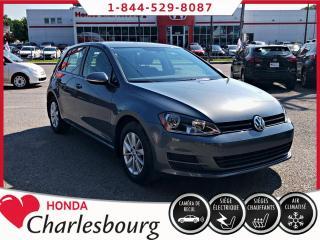 Used 2017 Volkswagen Golf TRENDLINE**16 107 KM**AUTOMATIQUE** for sale in Charlesbourg, QC