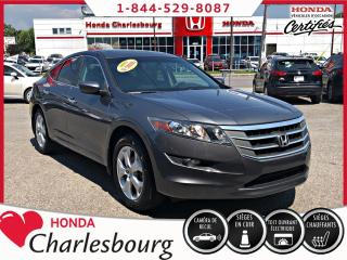 Used 2012 Honda Accord Crosstour EX-L 4WD **GPS** for sale in Charlesbourg, QC