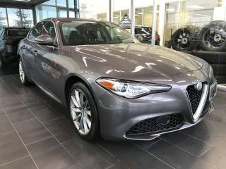 Used 2017 Alfa Romeo Giulia ACCIDENT FREE, POWER HEATED LEATHER SEATS, SKYROOF, NAVI for sale in Edmonton, AB