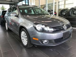 Used 2014 Volkswagen Golf Wagon HEATED SEATS, A/C, TRUNK COVER for sale in Edmonton, AB