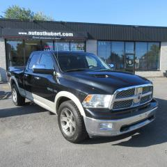 Used 2010 Dodge Ram 1500 LARAMIE 4X4 HEMI 5.7L **NAVIGATION** for sale in St-Hubert, QC