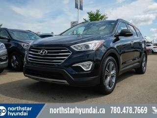 Used 2016 Hyundai Santa Fe XL LTD 6 PASS/LEATHER/PANOROOF/NAV/COOLEDSEATS/HEATEDSTEERING for sale in Edmonton, AB