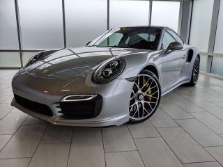 Used 2015 Porsche 911 TURBO S | CPO | Ext. Warranty | Premium PLUS | Contrast Stitch for sale in Edmonton, AB