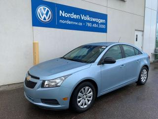 Used 2011 Chevrolet Cruze LS AUTOMATIC for sale in Edmonton, AB
