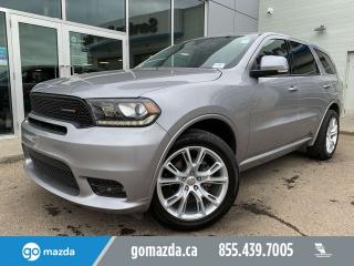 Used 2019 Dodge Durango GT AWD LEATHER SUNROOF PRACTICALLY NEW for sale in Edmonton, AB