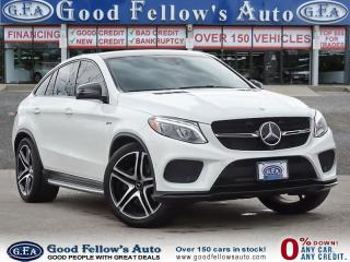 Used 2017 Mercedes-Benz GLE GLE43 AMG 4MATIC Coupe, Premium Package,Navigation for sale in Toronto, ON