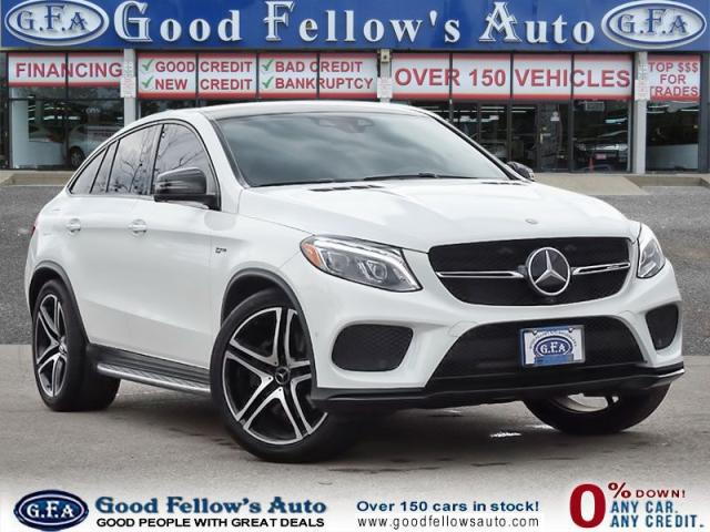 2017 Mercedes-Benz GLE GLE43 AMG 4MATIC Coupe, Premium Package,Navigation