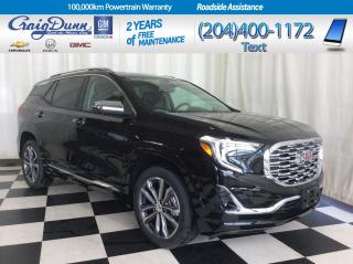 New 2019 GMC Terrain * DENALI AWD * HEATED SEATS * SUNROOF * for sale in Portage la Prairie, MB