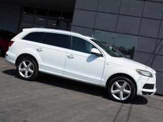 Used 2013 Audi Q7 S LINE|TDIVENT SEATS|NAVI|REARCAM|PANOROOF|7 SEATS for sale in Toronto, ON