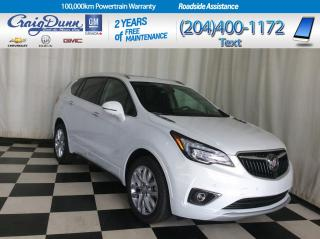 Used 2019 Buick Envision * PREMIUM II AWD * POWER LIFTGATE * HEADSUP DISPLAY * for sale in Portage la Prairie, MB