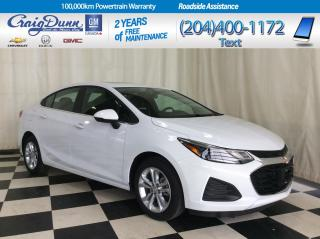 New 2019 Chevrolet Cruze * LT Sedan * REAR PARK ASSIST * HEATED SEATS * for sale in Portage la Prairie, MB