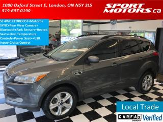 Used 2014 Ford Escape SE 4WD ECOBOOST+MyFord+Camera+Bluetooth+Sensors+AC for sale in London, ON