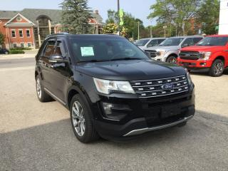 Used 2016 Ford Explorer Limited | AWD | Accident Free | Moonroof for sale in Harriston, ON