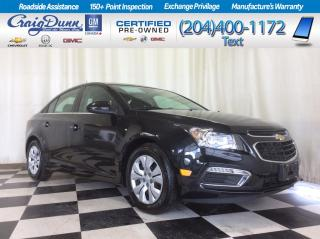 Used 2015 Chevrolet Cruze * 1LT Sedan * BACKUP CAMERA * BLUETOOTH * for sale in Portage la Prairie, MB